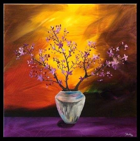 Artiste peintre john beckley for Peinture sur tableau